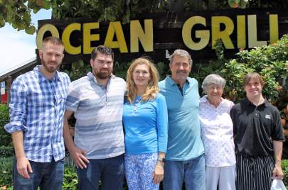 The Replogle Family, owners of Ocean Grill